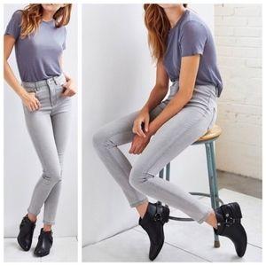 BDG Gray Wash Denim Skinny Jeans Size 26